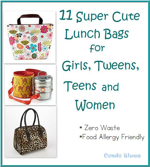 11 cute lunch bag ideas for girls, teens, and women