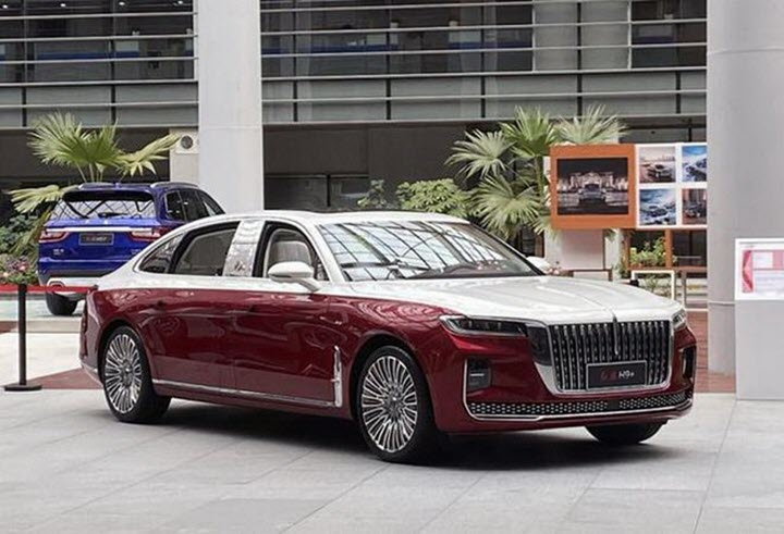 'Rolls-Royce Trung Quốc' sắp ra bản trục cơ sở dài
