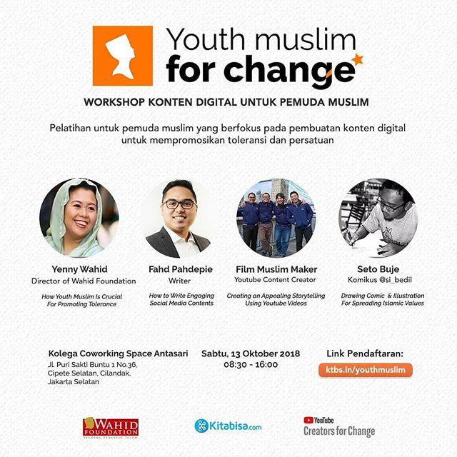 Workshop Konten Digital untuk Pemuda Muslim