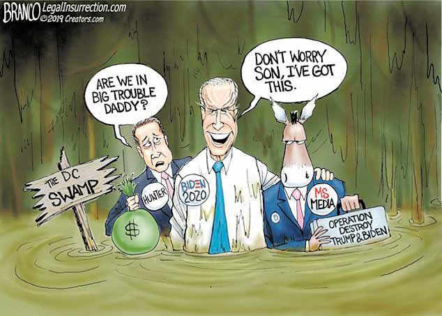 Presumptuous Politics Hunter Biden Cartoons