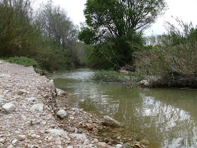 Los colores del agua del río Ebro