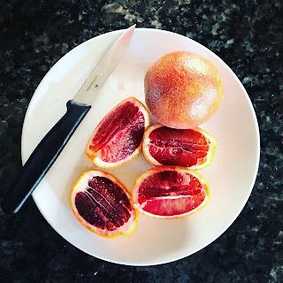 Blood Orange Chia Seed Pudding
