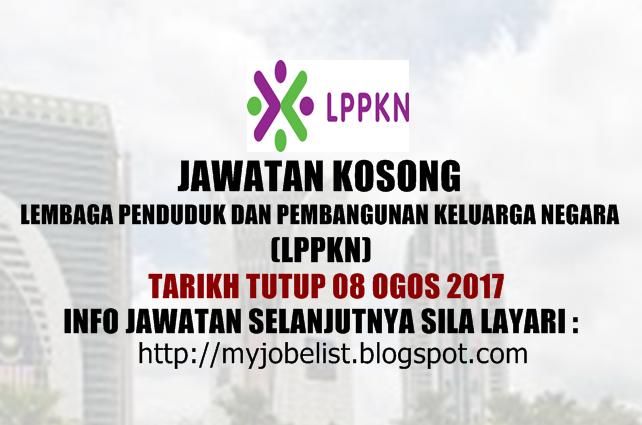Jawatan Kosong Kerajaan Terkini di LPPKN - 08 Ogos 2017