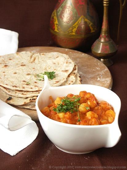 wegetariańskie kremowe curry z ciecierzycy