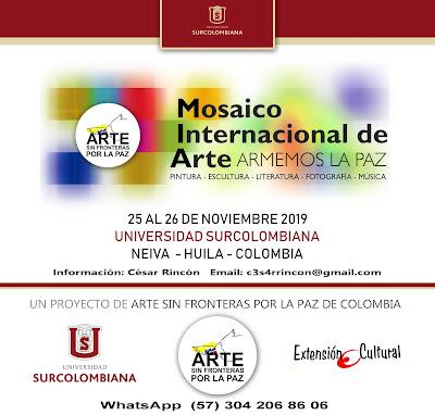 MOSAICO INTERNACIONAL DE ARTE ARMEMOS LA PAZ 2019