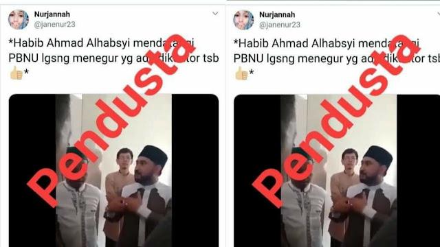 Yang di Ceramahi Ahmad Al Habsyi Orangnya Sendiri, Bukan Orang PBNU