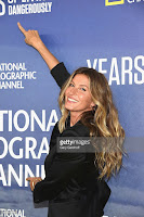 NFL player Tom Brady and model Gisele Bundchen attend National Geographic's 'Years Of Living Dangerously' Season 2 World Premiere at American Museum of Natural History on September 21, 2016 in New York City (Credit: gettyimages.com) Click to Enlarge.