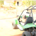 Popular Paulo do sítio Cocos sofre acidente no seu buggy e fica ferido levemente