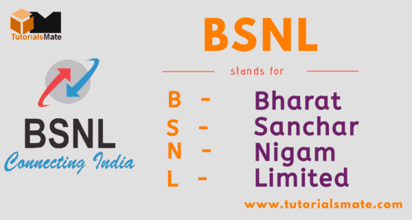 BSNL Full Form