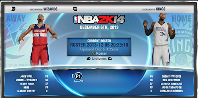 PS4 Xbox One First NBA 2K14 Roster Update