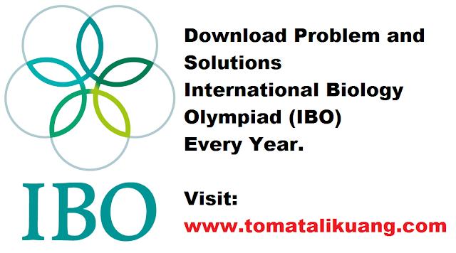 problem and solutions ibo; soal dan pembahasan ibo; www.tomatalikuang.com