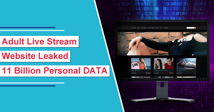 Adult Live Stream Website CAM4.com Leaked 11 Billion Personal Records From 7TB Size Database