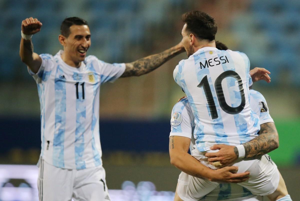 La Selección Argentina, con gol de Messi, derrotó a Ecuador y clasificó a semifinales