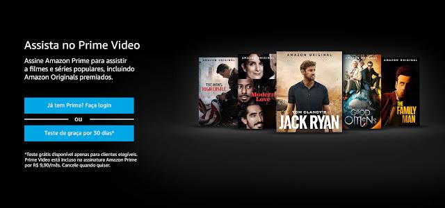 Chegou o Serviço de streaming Amazon Prime Video à Vodafone