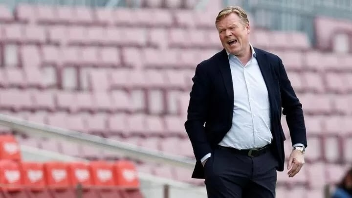 Koeman: Messi showed today that it's impossible to play without him