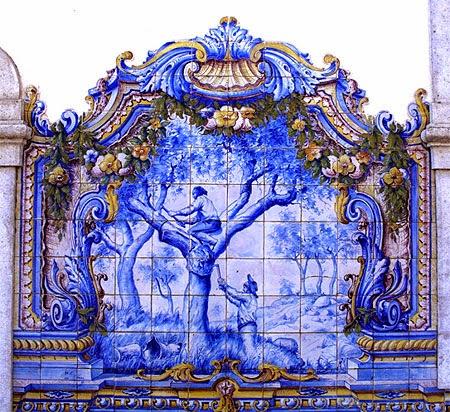 Ao p da raia portugal e os azulejos for Azulejos de portugal