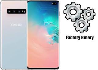 Samsung Galaxy S10 Plus SM-G975F Combination Firmware