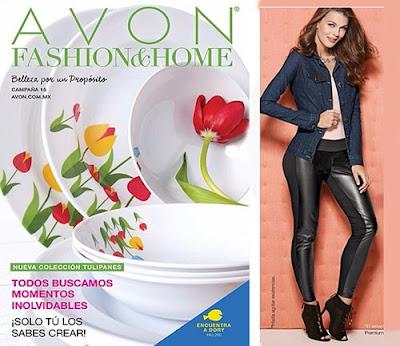 Catalogo Moda y Casa de Avon C-15 2016