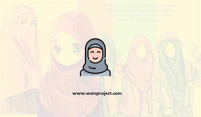 Gambar Kartun Muslimah Cantik, Sedih dan Keren