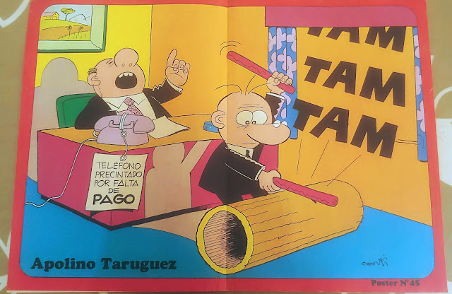 Poster de Apollo Taruguez Zipi y Zape nº 45