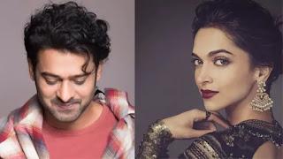 Deepika padukon and prabhas came together for nag ashwin's science fiction film