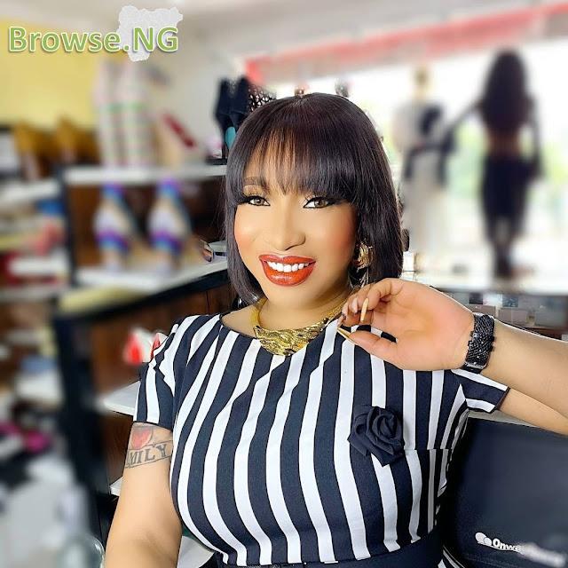 'I Can't Open My Body, No Matter How Much You Pay Me' - Tonto Dikeh Warns Fashion Vendors