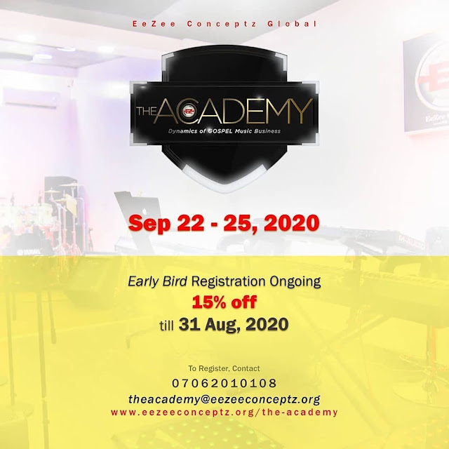Register Now: The Academy By EezeeConceptz