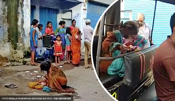 Remaja ditinggalkan kekasih  lahirkan anak di tepi jalan selepas hospital enggan bantu