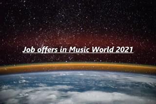 Job offers in Music World 2021- संगीत क्षेत्र मे व्यवसाय कि दृष्टी से विविध संभावनाये