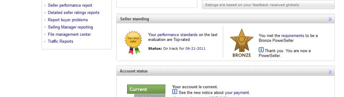 aku, ebay dan kehidupan Ini   : First Time dpt title Ebay