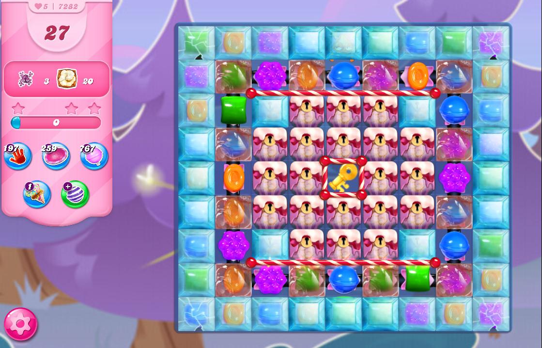 Candy Crush Saga level 7282