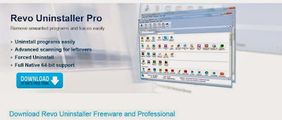 Revo Uninstaller Pro 3.1.0 full version