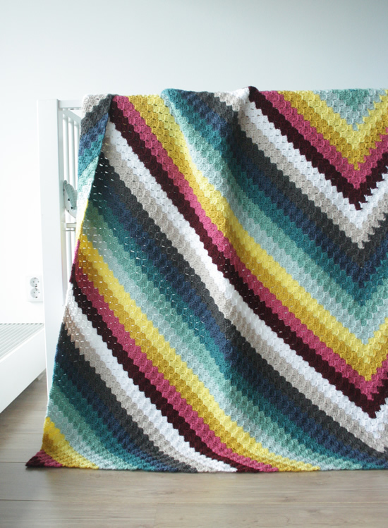 C2C Havana Nights Blanket | Happy in Red