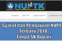 Syarat dan Pengajuan NUPTK Dengan SK Kepala Dinas, Berikut Penjelasannya
