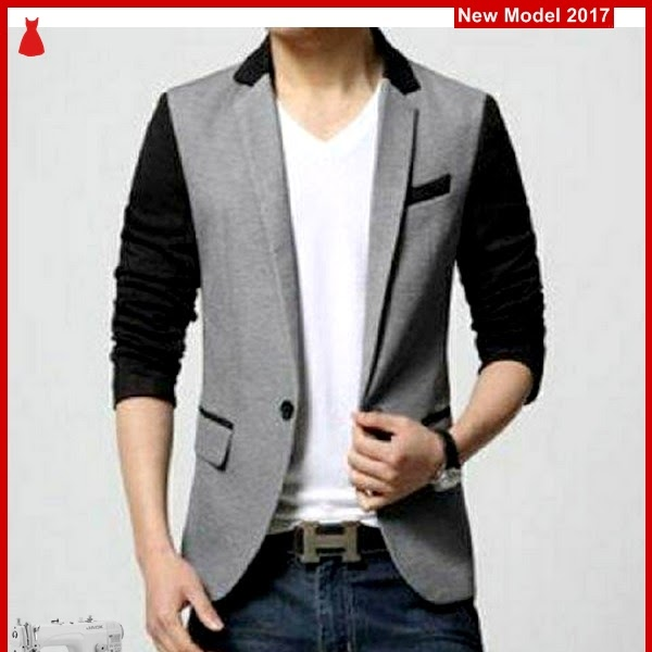 MSF0051 Model Blazer Gray Murah Combi Black BMG