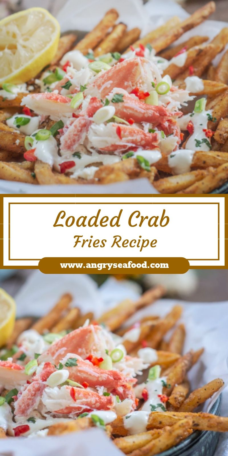 Loaded Crab Fries Recipe