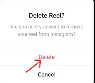 Instagram Reels Video Delete Kaise Kare