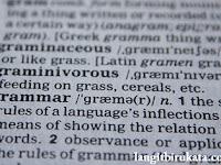 Apa Saja yang Perlu Kita Ketahui Sebelum Memutuskan Belajar Grammar?