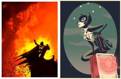 DC Comics Batman Giclee Prints by Jock, Glen Brogan & Bottleneck Gallery