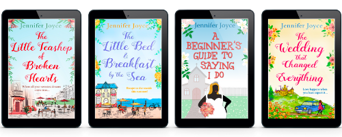 The Little Teashop of Broken Hearts, The Little Bed & Breakfast by the Sea, A Beginner's Guide To Saying I Do, The Wedding That Changed Everything