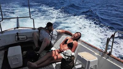www.pescaturismomallorca.com Los turistas de Pescaturismo regresan al puerto de Can Picafort