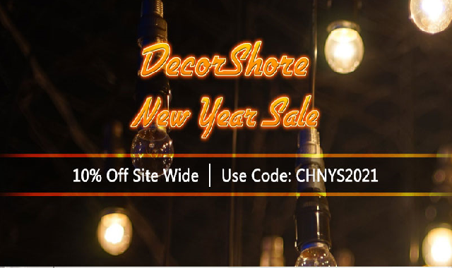 DecorShore New Year Sale 2021 #infographic