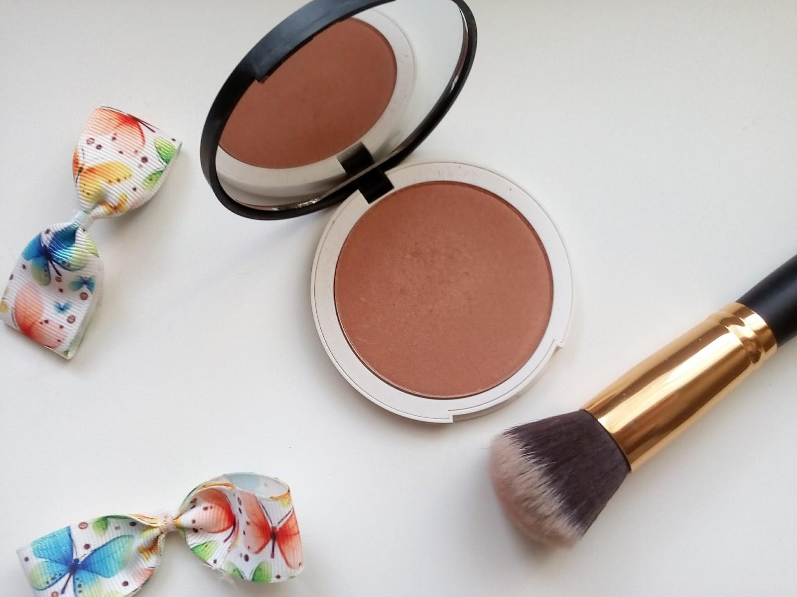 Naturalny Prasowany Rozświetlający Bronzer  Lily Lolo-  Bronzed Illuminator - odrobina słońca w makijażu