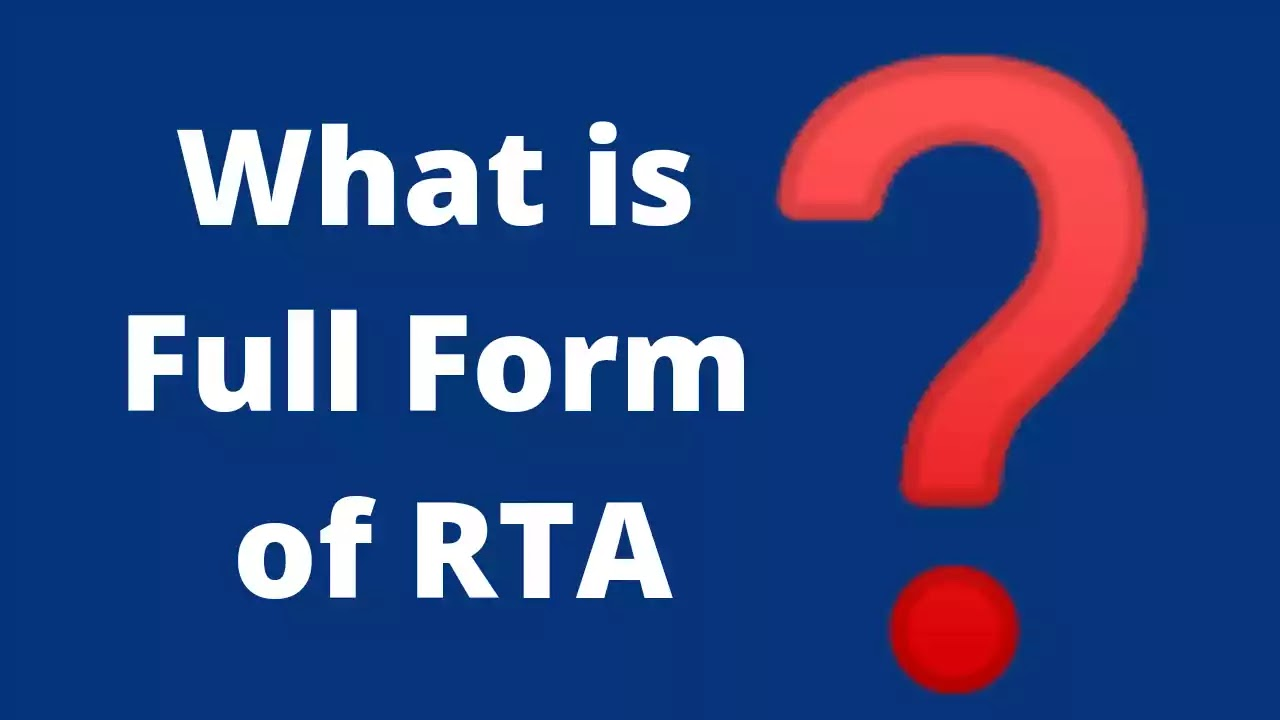 RTA-Full-Form