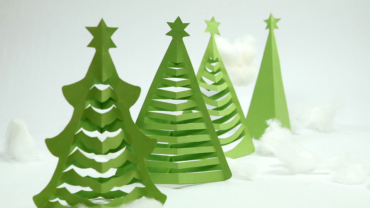 How To Make Paper Christmas