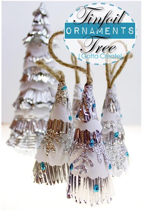 tin foil trees