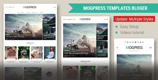MogLands Blogger Templates - Kaizentemplate - Rebuild Another Awesome Blogger Templates