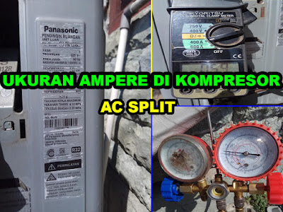 ukuran ampere kompresor ac split