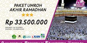 Paket Umroh Akhir Ramadhan 12 Hari 2020