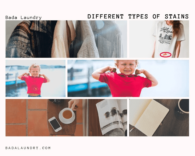 Types of Stains on Garments | Commercial Laundry